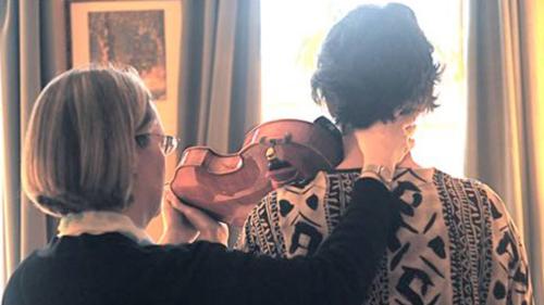 Pamela Bartlett Alexander Technique with violist