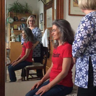 Pamela Bartlett Alexander Technique chair work