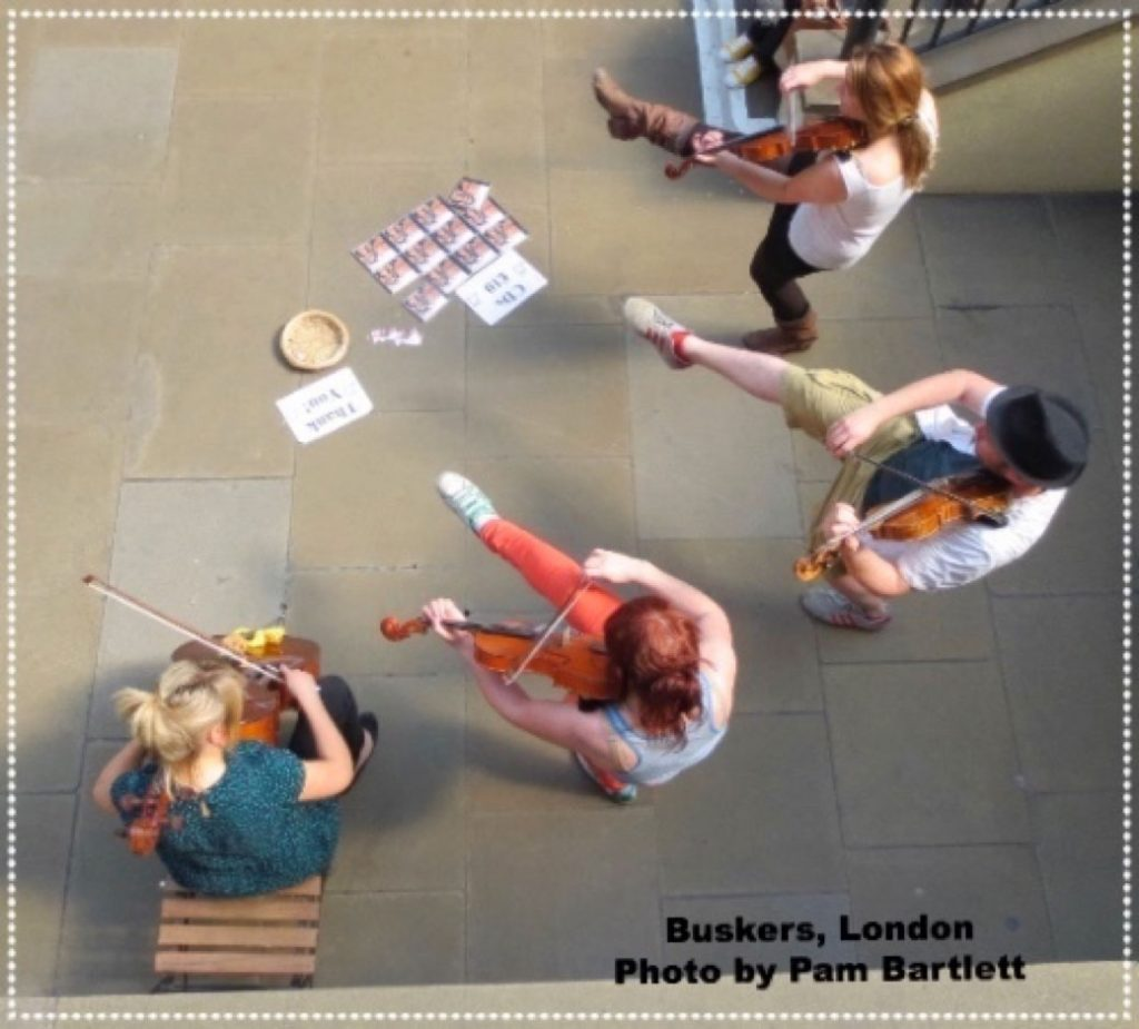Pamela Bartlett Alexander Technique - buskers in London